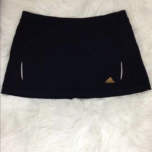 Adidas Women  Athletic Golf Skort Black Size Large
